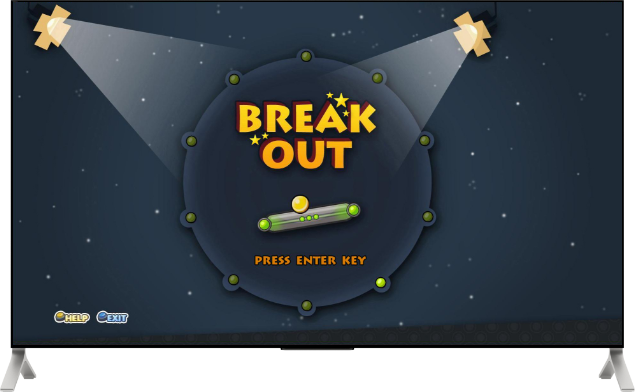 SmartTV - Game - Break Out