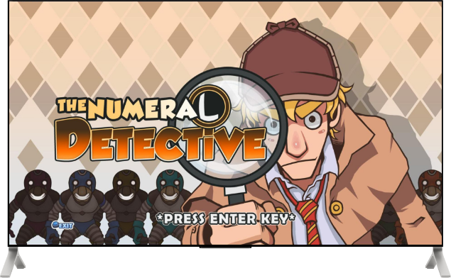 SmartTV - Game - the numeral detective