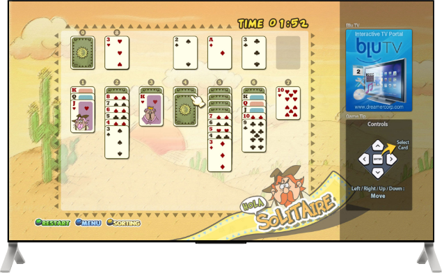 SmartTV - Game - Solitaire